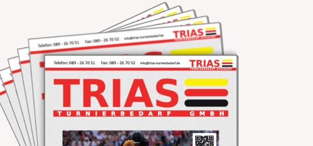 Der neue TRIAS – Katalog ist da…